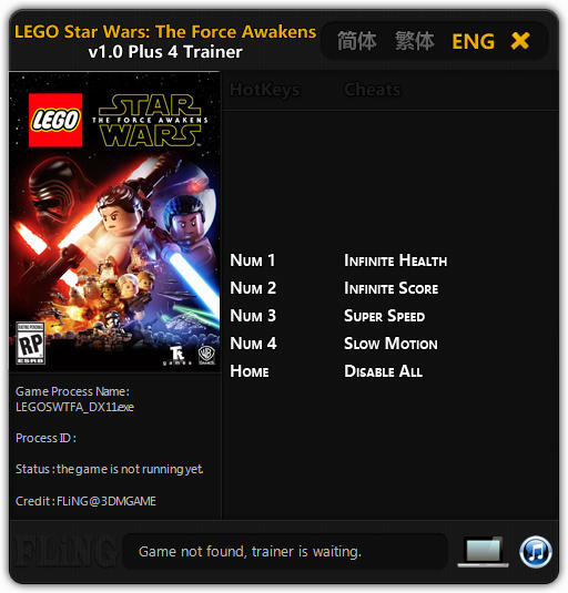 LEGO Star Wars: The Force Awakens: Trainer (+4) [1.0] {FLiNG ...