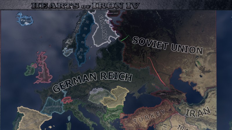 Hearts of Iron 4: Trainer +10 v1.0 - 1.1.0 {FLiNG}