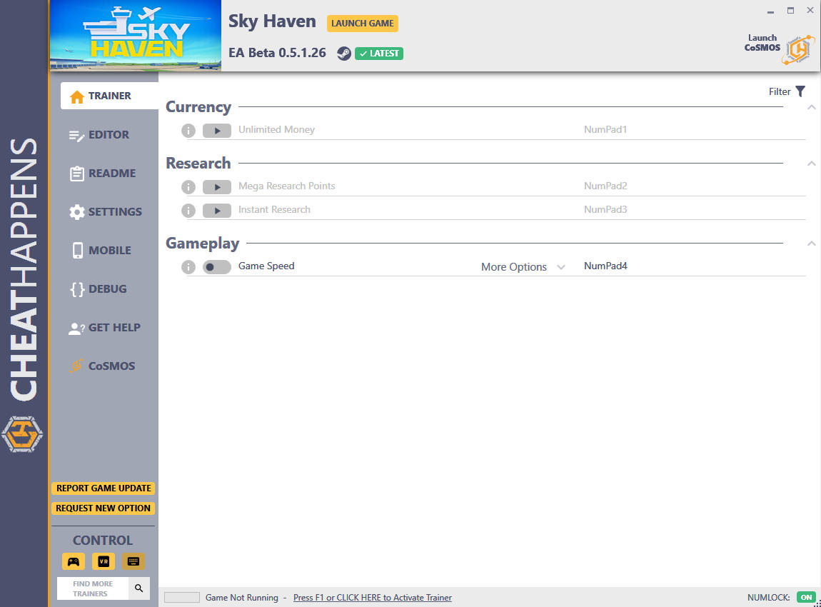 Sky Haven: Trainer +7 EA Beta 0.5.1.26 {CheatHappens.com}