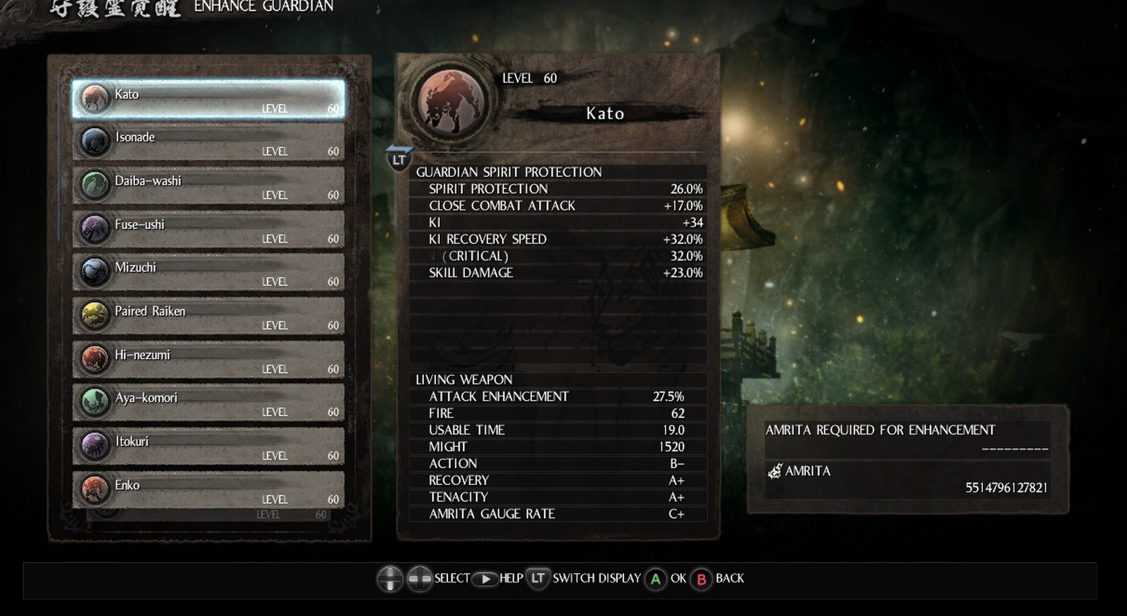 Nioh: Save Game (All difficult unlock and story complete) - Download